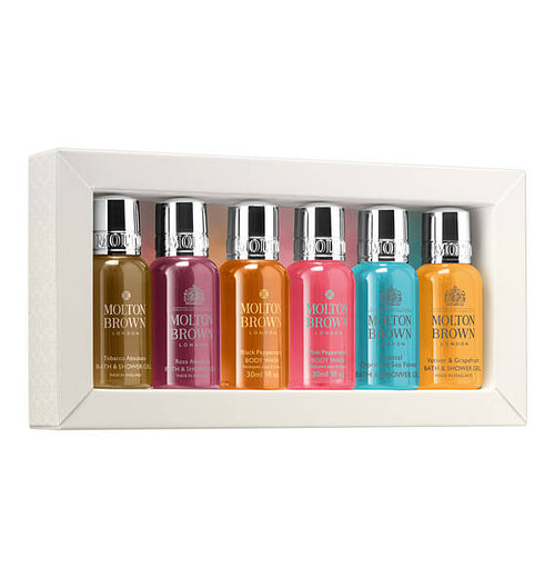 MOLTON BROWN Eminent Explorations Bath & Shower Collection 6 x 30 ml